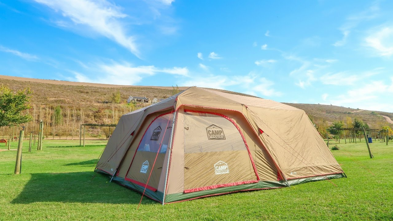 Camp Master Family Cabin 820 Tent Review South African