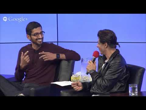 Best of Shahrukh Khan at Google talk with Sundar Pichai | Part 1 | Motivational