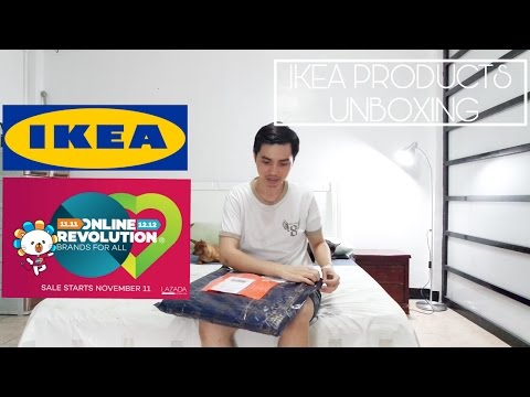 UNBOXING: Ikea Products From Lazada