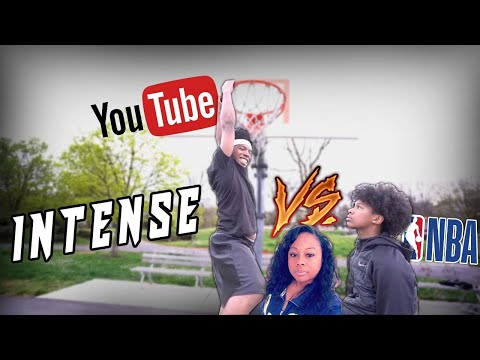 1V1 BASKETBALL VS LIL BROTHER! (IF HE WINS HE TAKES MY YOUTUBE CHANNEL AND MOM MOVES TO SEATTLE)