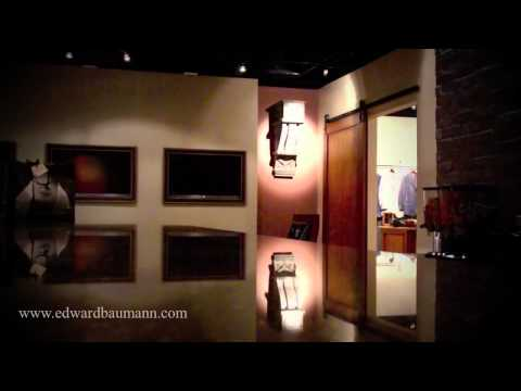 Video Tour of Edward Baumann Clothiers New Showroom in Addison, Texas
