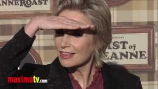 "Jane Lynch at Comedy Central ""Roast of Roseanne"" Arrivals"