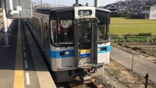 6000系発車@端岡駅