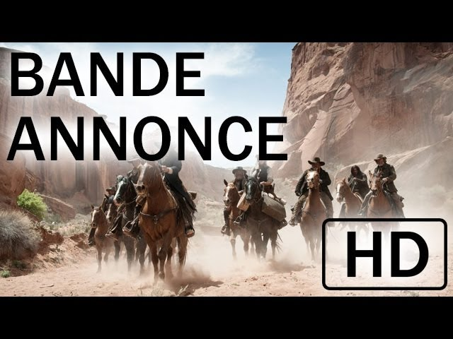 Lone Ranger - Nouvelle bande-annonce - VOST - 7 août au cinéma I Disney