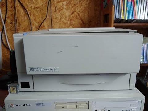 Fun With An HP LaserJet 5P