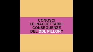 Le inaccettabili conseguenze del Ddl Pillon