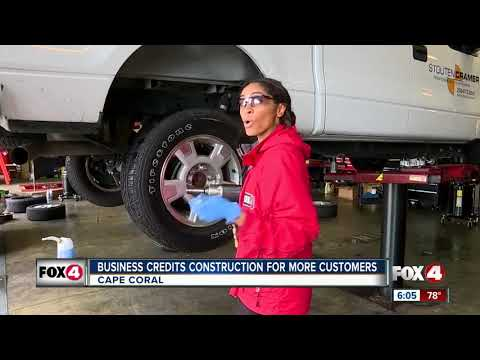 Tire shop booming from Cape Coral construction causing flat tires