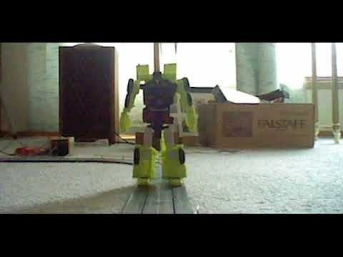 Transformers Combiner Wars Constructicon Hook Stopmotion Animation