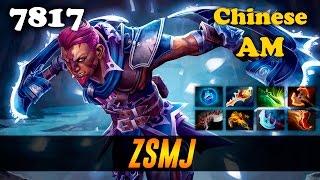 ZSMJ Chinese Anti Mage | 7817 MMR Dota 2