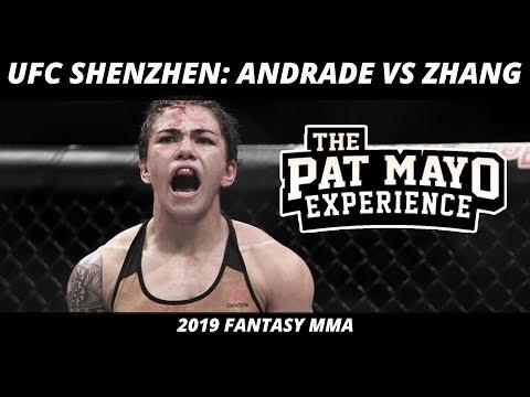 2019 UFC Shenzhen DraftKings Picks —UFC On ESPN+ 15 Andrade Vs Zhang MMA Picks