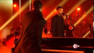 Ricky Martin y Mario Domm - Perdón - La Voz México