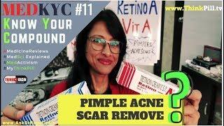 Retino - A Cream (2018) for Pimples Acne & Scar - Dr Rupal REVIEWS  #MedKYC 10