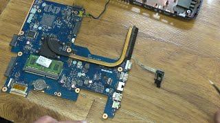 Ремонт ноутбука HP 255: не включается.