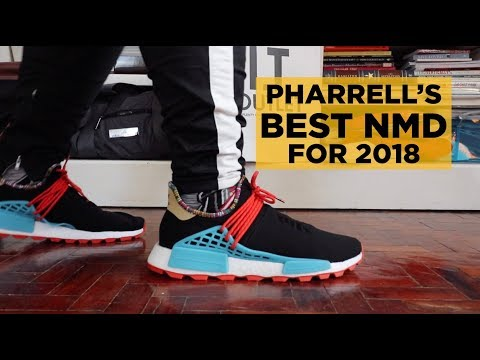 PHARRELL'S BEST ADIDAS NMD FOR 2018 (INSPIRATION PACK UNBOXING & ON-FEET REVIEW)
