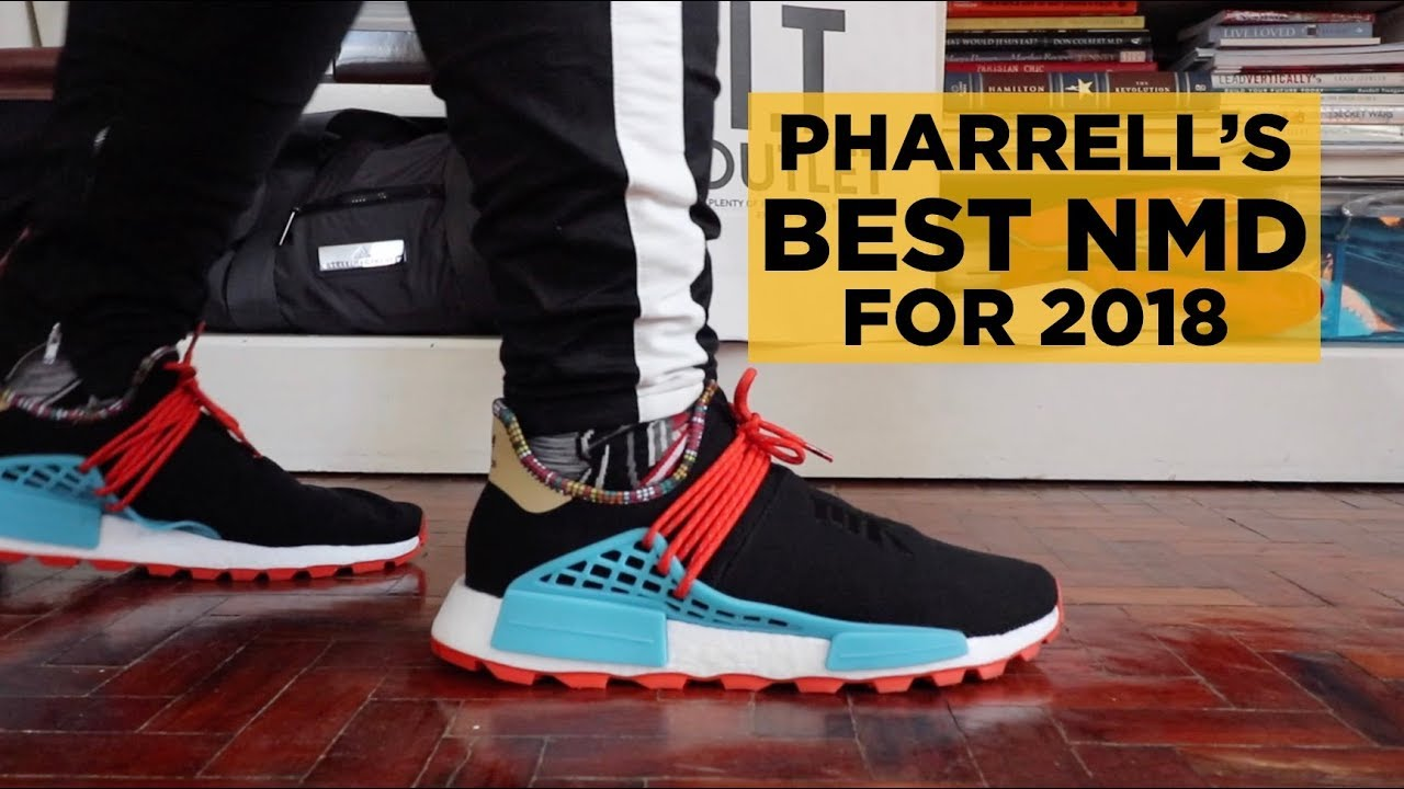 44c641127 PHARRELL S BEST ADIDAS NMD FOR 2018 (INSPIRATION PACK UNBOXING   ON-FEET  REVIEW)