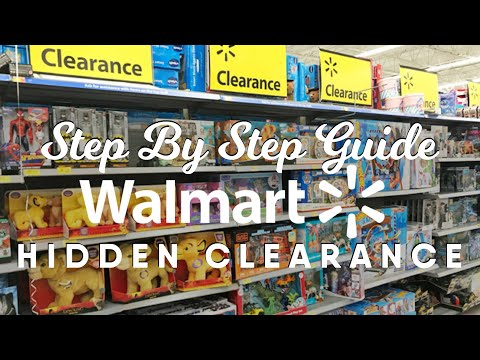 How To Find Hidden Clearance At Walmart | Step By Step Process And Tips!