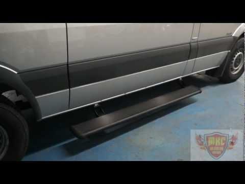 Mercedes Sprinter Electric Side Steps Running Boards