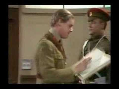 Monty Python - Trivializing the war / Courtmartial