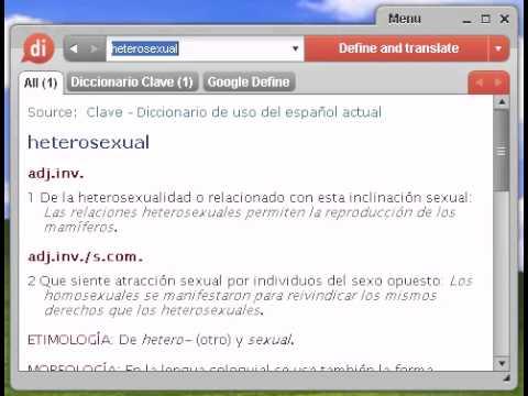 Heterosexual significado espanol