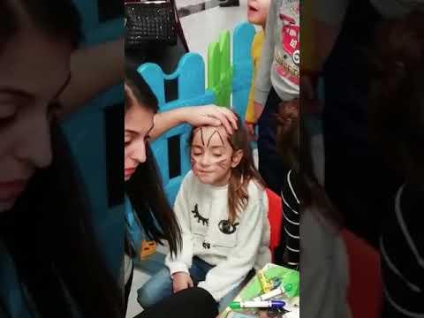 Yüz Boyama Ile Zeynep Kedi Kız Oldu Youtube