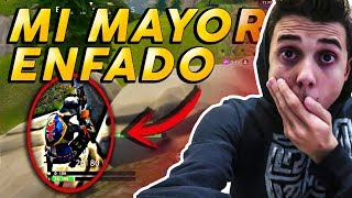 MI MAYOR ENFADO EN FORTNITE BATTLE ROYALE! *ME QUEDO BUG*