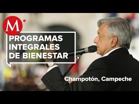 AMLO presenta Programas de Bienestar en Champotón, Campeche