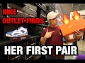 GIRLFRIEND GET'S HEAT AT NIKE OUTLET!