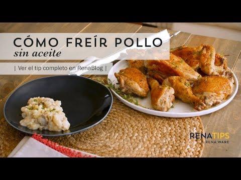 Cómo Freír Pollo Sin Aceite Youtube