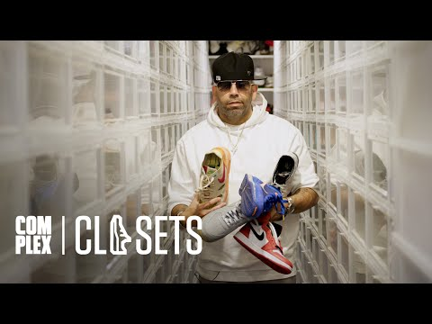 Mayor Gives a Tour of His Nearly $2 Million Sneaker Collection On Part 1 Of Complex Closets