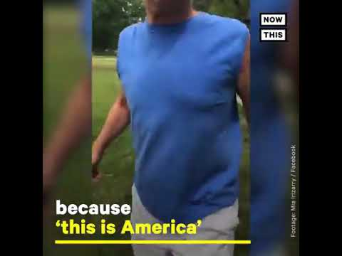 A man harassed a woman wearing a Puerto Rico shirt