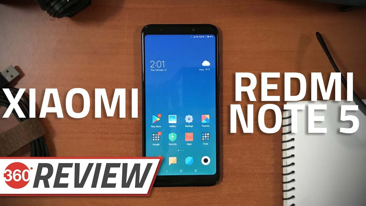 Xiaomi Redmi Note 5 - Review