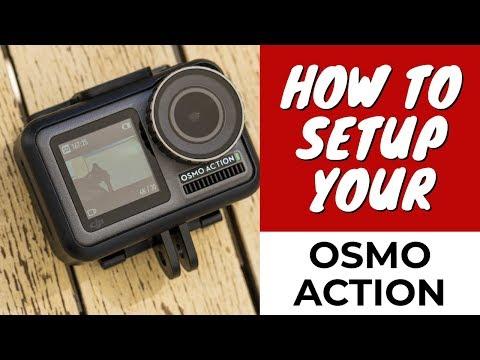 DJI Osmo Action  How to Setup and Use