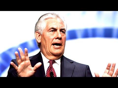 Secretary Rex Tillerson Addresses Media at State Department 4/19/17 Saudi Arabia, Donald Trump News