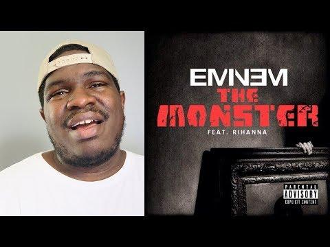 FIRST TIME Hearing Eminem - The Monster (Explicit) ft. Rihanna | REACTION