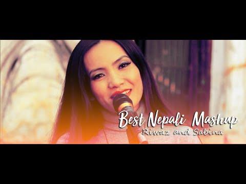 Best Nepali Old Songs  Mashup ( 3 Songs ) || Riwaz & Sabina  ||  King's Entertaintment