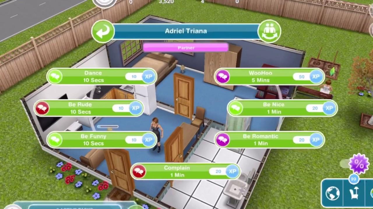 Sims Freeplay | Woohoo & proposal! - YouTube
