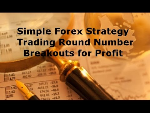 Simple Forex Trading Strategy - Price Action Method to Trade Round Number Breakouts
