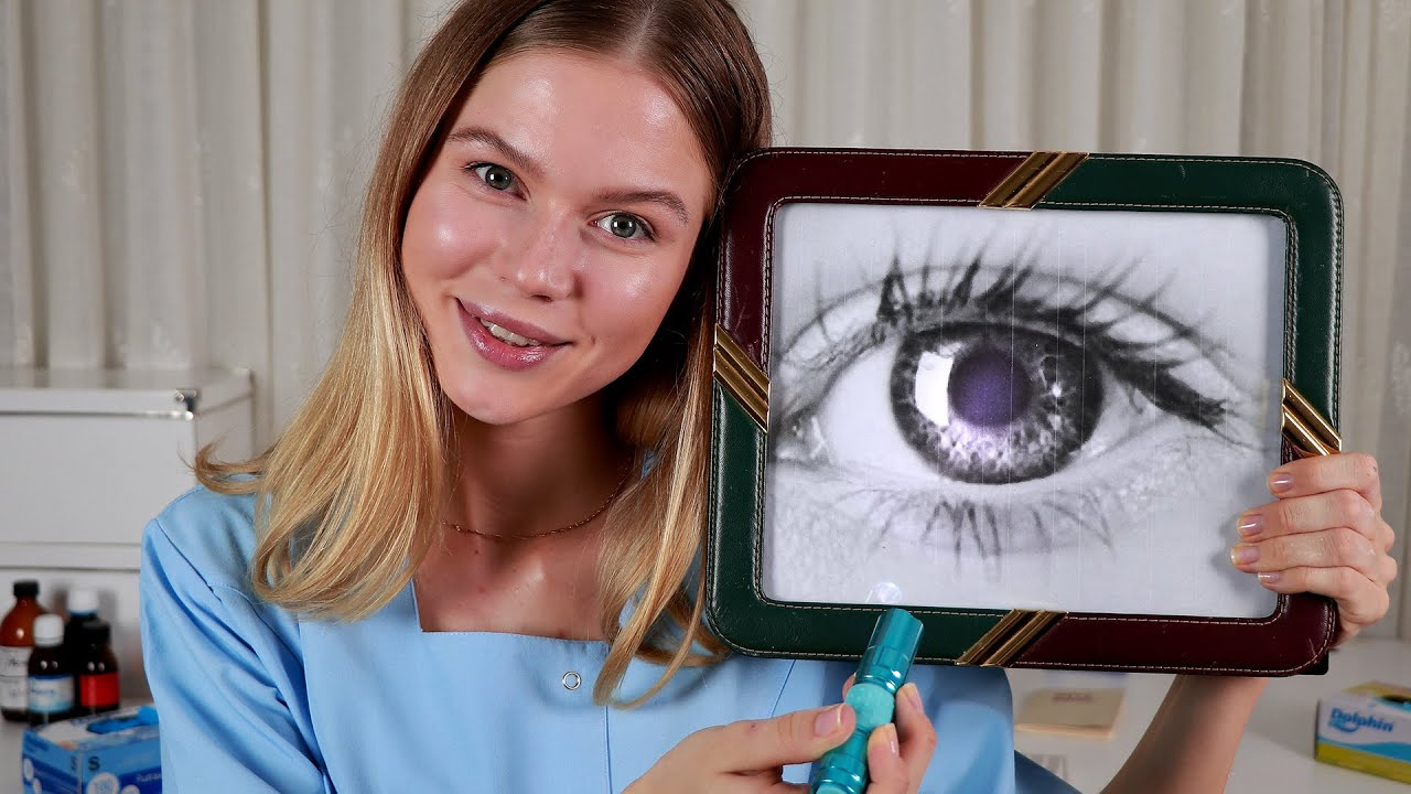 Download ASMR Eye Doctor Lizi Tests Your Vision.  Medical RP, Personal Attention