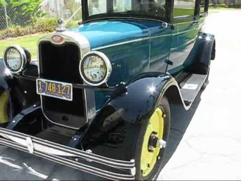 1928 Chevrolet National Series AB for Sale - YouTube