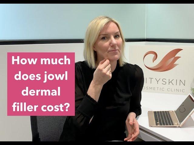 How much does jowl dermal filler cost? Cityskin Melbourne, Sydney & Adelaide