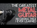The Greatest METAL GUITAR recording trick I ever learned SpectreSoundStudios TUTORIAL