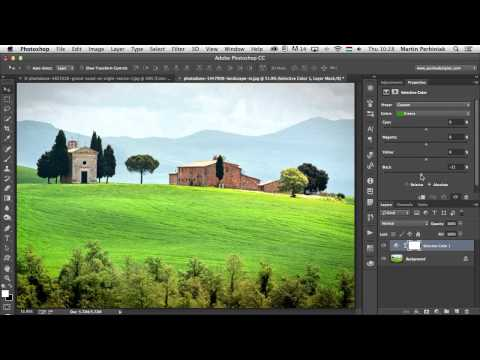 The Ultimate Guide to Adjustment Layers -- Color Balance and Selective Color