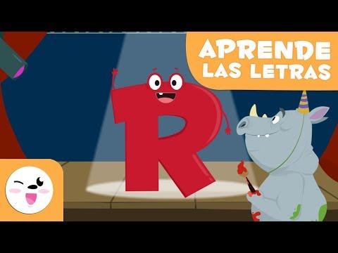 Aprende la letra R con el rap del rino Rufino - El abecedario