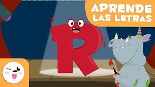Video Aprende la letra R con el rap del rino Rufino - El abecedario download MP3, 3GP, MP4, WEBM, AVI, FLV September 2018