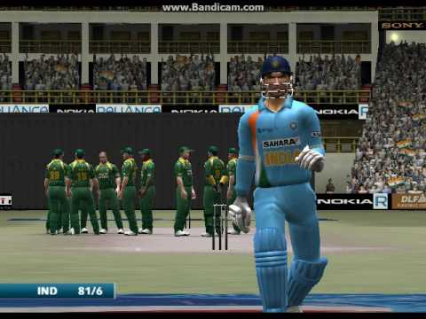 EA Sports Cricket India vs South Africa match 1