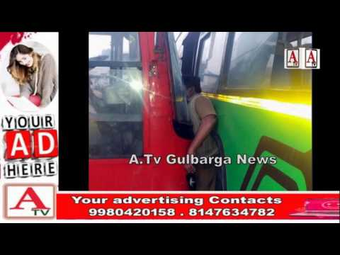 Accident at Megistic Buss Stand Bangalore A.Tv News 7-1-2017