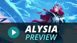 """Alysia """"The Ice Weaver"""" - Coming December 13 Battlerite is FREE-TO-..."""