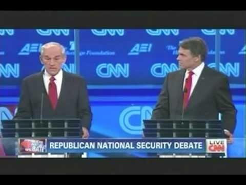 Ron Paul Highlights - CNN National Security Debate Nov ...