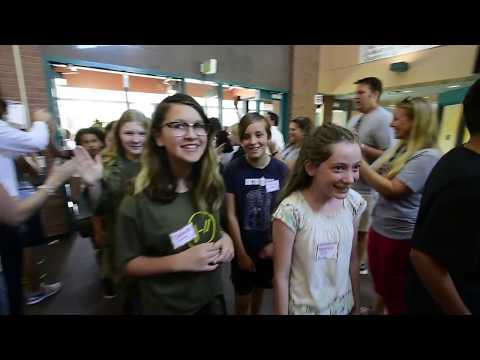 ANGEVINE MIDDLE SCHOOL WELCOMES NEW SIXTH GRADERS