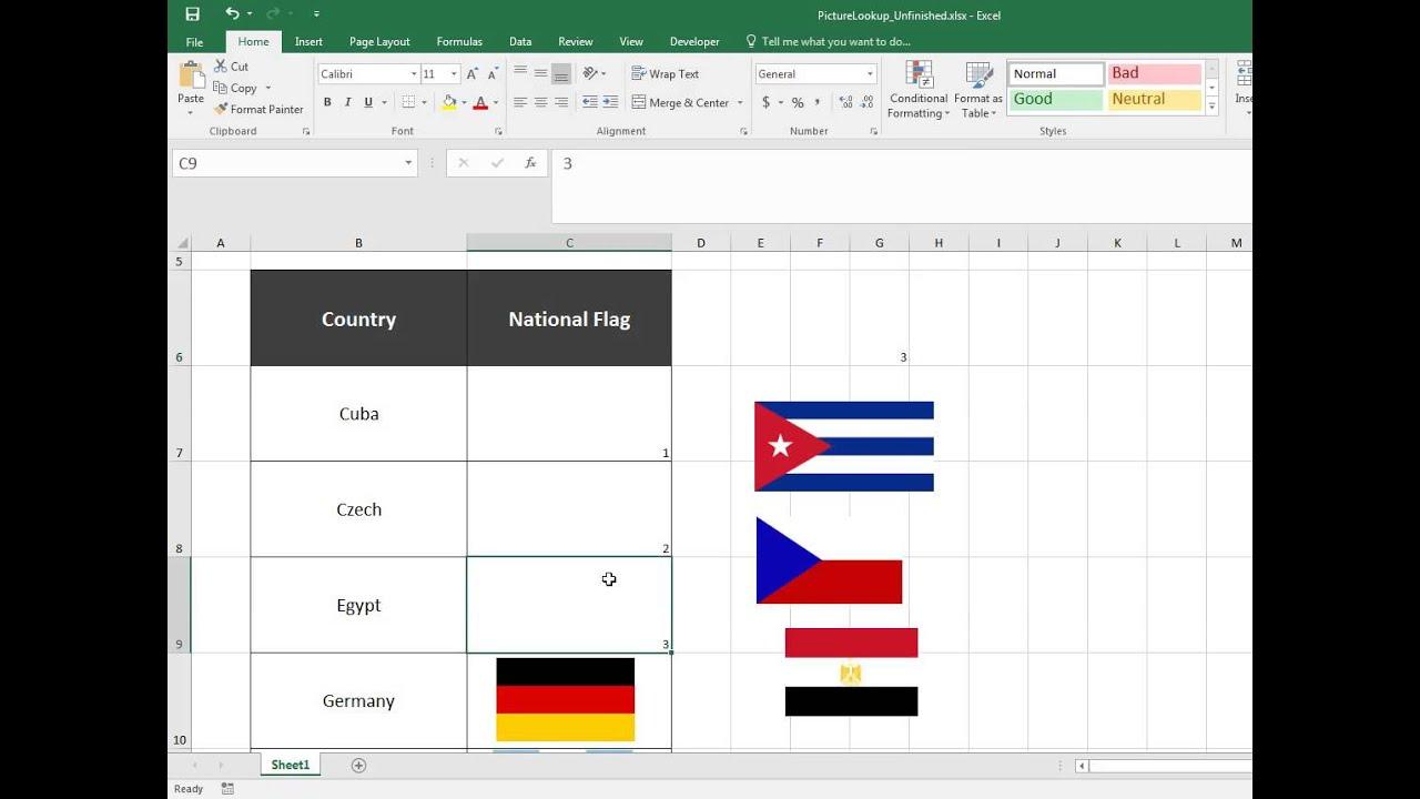 Excel Trick